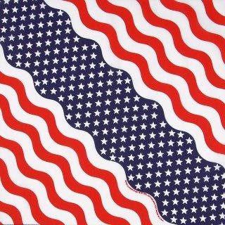 USA2.フラッグ、デザインバンダナ(新品)202