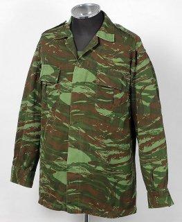ギリシャ、カモ、フィールドシャツ(USED)E23U=