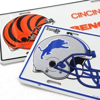 NFL アメリカンフットボール ライセンスプレート(新品)50-57