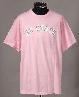 ノースカロライナ州立大学 ピンク カレッジTシャツ(新品)COL17-