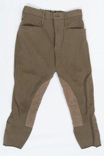 【ビッグ&スモール特価】イギリス軍 ブラウン ライディングパンツ(USED)218U-SB