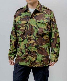イギリス軍 DPM カモフラージュ ファティーグシャツ(USED)B36U