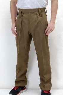 イギリス陸軍 ARMY ブラウン No.2 バラック ドレスパンツ(ニアニュー)206N2