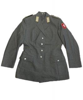 ドイツ陸軍 ARMY グレー レディース ドレスジャケット ワッペン付(USED)G31UW-LDY