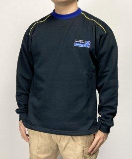 イギリス ネイビー Kwik Fit スウェットシャツ(新品)B71N=