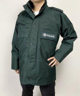 【訳あり】アイルランド警察 POLICE ダークグリーン GORE-TEX アノラック(USED)482UWD