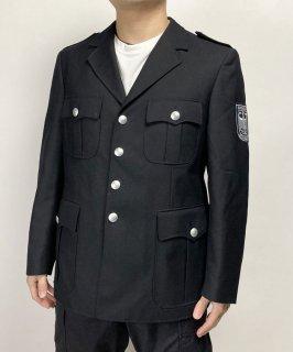 ドイツ軍 ブンデスベーア ブラック ジャケット(新品)ボタン&ジッパータイプ G34N