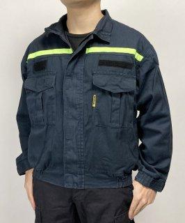 チェコ消防士 HASICI ファイアーデプト ワークジャケット(USED)E73U