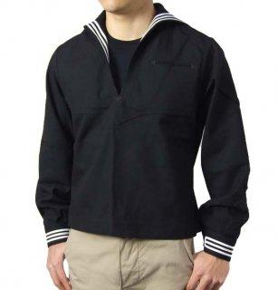 アメリカ海軍 U.S.NAVY ブラック セーラー(新品)A46N=