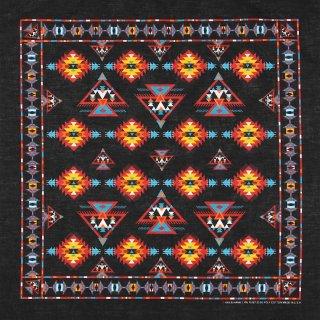 ブラック、インディアン、バンダナ(新品)218