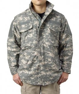 アメリカ軍 ACU デジタルカモ PROPPER M-65 フィールドジャケット(新品)A89N