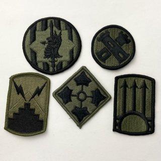 アメリカ軍 OD 部隊章ワッペン 5枚セット(新品)OD5-A