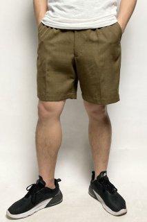 イギリス陸軍 ARMY カーキ No.2 バラック ショートパンツ(USED)206UH=