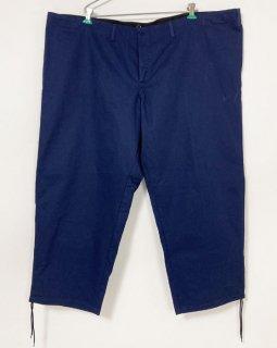 【1点物】ドイツ ブルー コットン ワークパンツ(新品)GR1=