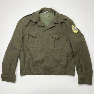 【1点物】ギリシャ軍 OD ワッペン付 アイクジャケット(USED)表記42(M相当) GK1
