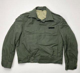 【1点物】ギリシャ軍 OD アイクジャケット(USED)表記44(L相当) GK2