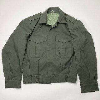 【1点物】ギリシャ軍 OD アイクジャケット(USED)表記12(M相当) GK3