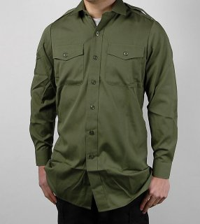 イギリス軍 OD フィールドシャツ(USED)B21U-