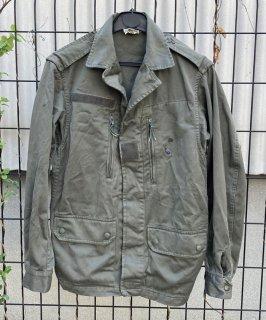 【1点物】フランス軍 OD F2 フィールドジャケット(USED)表記88M(S相当) FR10