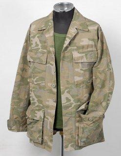 EU グリーンブラウンカモ コンバットジャケット(新品)E105N=