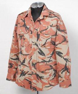 EU オレンジカモ コンバットシャツ(USED)E106U=