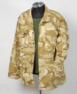EU カーキブラウンカモ コンバットジャケット(USED)E107U=