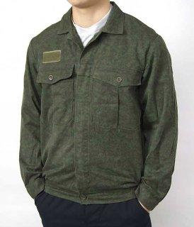 チェコ軍 グリーンカモ M-92 ワークジャケット(ニアニュー)E92N2=