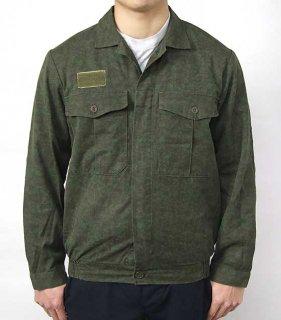 【訳あり】チェコ軍 グリーンカモ M-92 ワークジャケット(USED)E92UD=