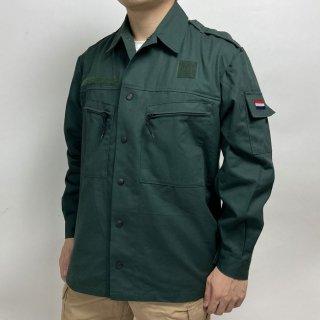 オランダ軍 グリーン ワッペン付 フィールドジャケット(新品)D31N=
