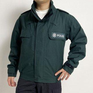【訳あり】北アイルランド警察 POLICE ダークグリーン GORE-TEX ワッペン付 ジャケット(USED)B75UD