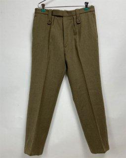 【1点物】イギリス軍 ウール ドレスパンツ(USED)W86cm/L75cm UK16=