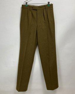 【1点物】イギリス軍 ウール ドレスパンツ(USED)W88cm/L81cm UK17=
