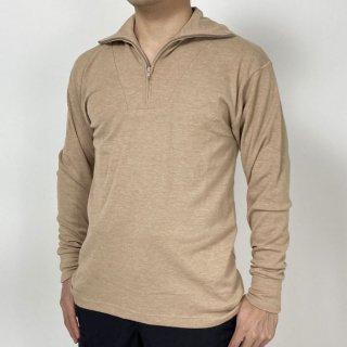 イギリス軍 カーキ FR ハーフZIP フィールドシャツ(新品)B80N=