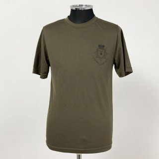 【1点物・4種類】イギリス軍関連 ブラウン ドライTシャツ(USED)T79U-BR-