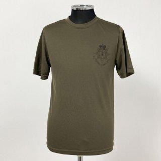 【1点物・3種類】イギリス軍関連 ブラウン ドライTシャツ(ニアニュー)T79N2-BR-