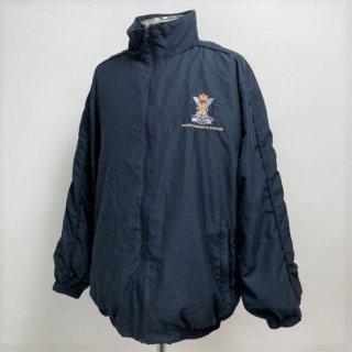 ロイヤル・スコットランド連隊 SCOTS ネイビー トレーニングジャケット(USED)UK31=