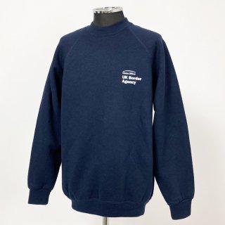 イギリス軍関連 ネイビー スウェットシャツ(新品)B85N