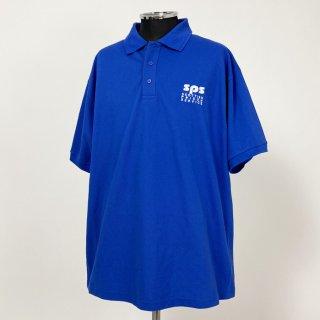 イギリス軍関連 ブルー ポロシャツ(新品)B87N-BLUE