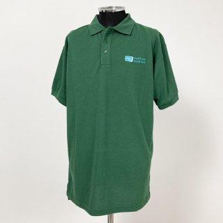 イギリス軍関連 グリーン ポロシャツ(新品)B87N-GREEN