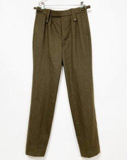 【1点物】イギリス軍 BA ブラウン ウール No.2 ドレスパンツ(ニアニュー)UK29=