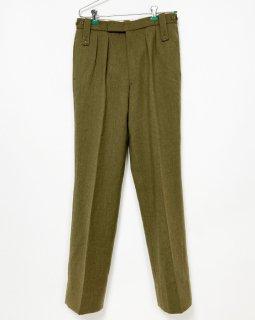 【1点物】イギリス軍 G.D. GOLDING ウール ドレスパンツ(USED)UK30=