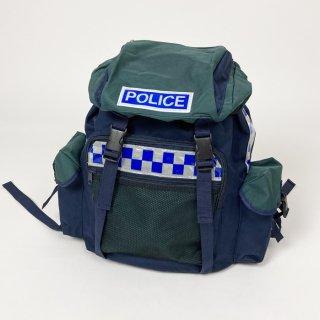 【1点物】イギリス警察 POLICE バックパック(新品)UK1
