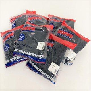 【お得な3枚セット】アメリカ軍 SOFFE ネイビー ミリタリーTシャツ(新品・コットンポリ)USA製 T46N-3PK=