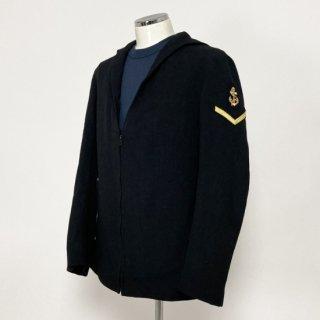 【1点物】イギリス海軍 ROYAL NAVY ブラック ワッペン付 Class2 セーラー(USED)UK71
