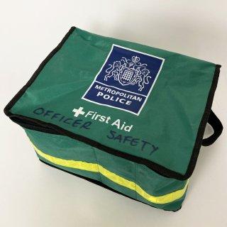 【1点物】イギリス・ロンドン警察 METROPOLITAN POLICE ファーストエイドバッグ(USED)UK9