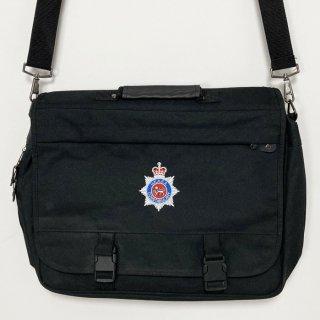 【1点物】イギリス原子力公社警察隊 U.K.A.E.A. CONSTABULARY ブラック ビジネスバッグ(新品)UK4