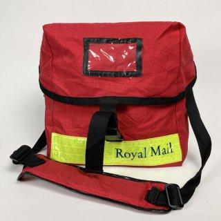 イギリス郵便 Royal Mail イエローストライプ デリバリーバッグ(USED)B1YU