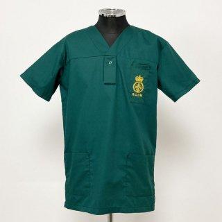 イギリス軍 RCDM グリーン ナースリー スクラブ(新品)UK73-