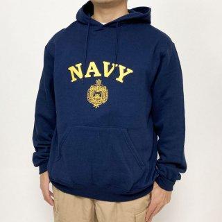アメリカ海軍兵学校 U.S.N.A. ネイビー SOFFE フード付きスウェットシャツ(新品)USSW60NN
