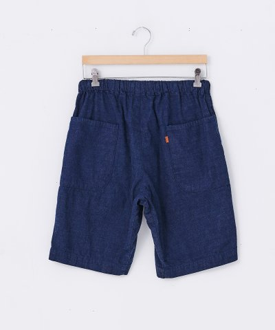 necessary or unnecessary/N.O.UN(ナウン)SPINDLE SHORTS 'DENIM'